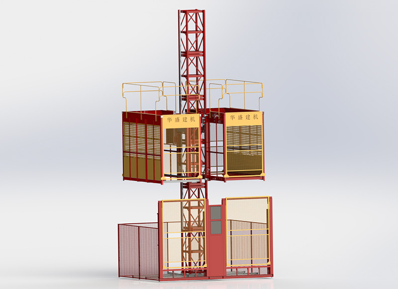 SC100X100施工升降机(齿条货梯)