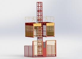 SC100/100 Freight lift